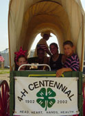 4H Covered Wagon